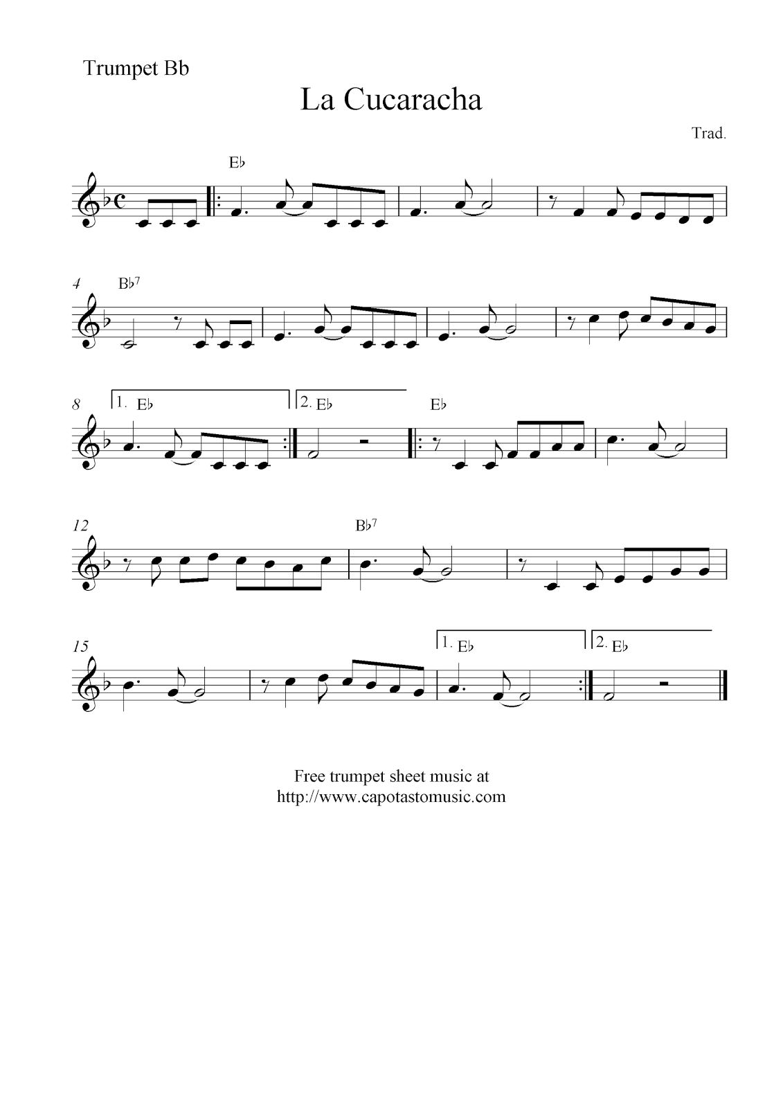 This is a photo of Impeccable Free Printable Sheet Music for Trumpet