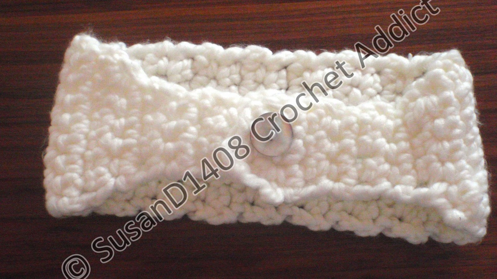 Free Crochet Patterns For Wide Headbands : Free Crochet Chunky Headband Pattern ~ Crochet Addict UK