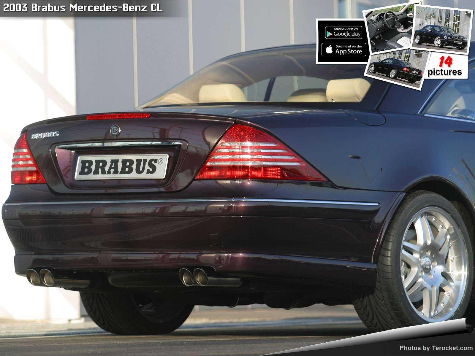 Hình ảnh xe ô tô Brabus Mercedes-Benz CL 2003 & nội ngoại thất