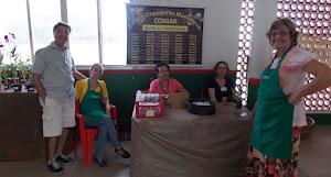 Equipe do COMAR, capitaneada pela presidente Vanda Delgado Lucas Gonçalves.