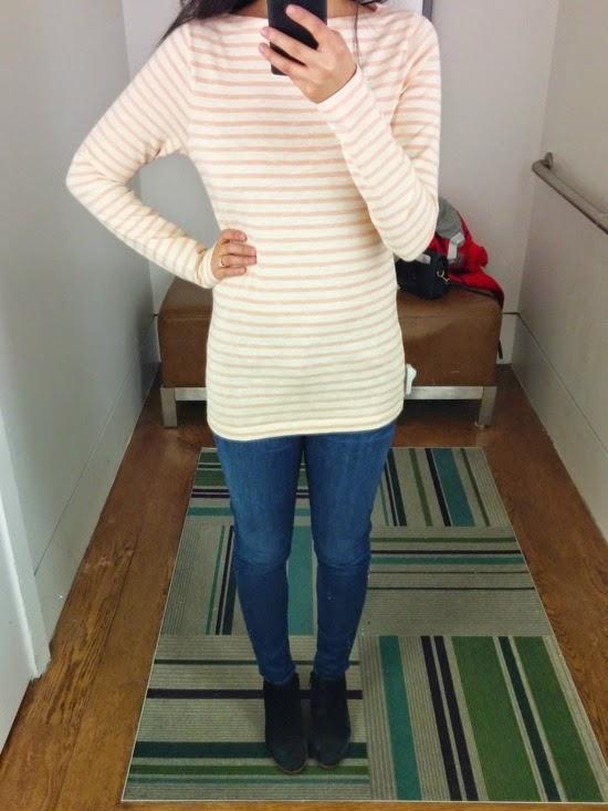 Dress like an Engineer: Gap Reviews: Stripe Boatneck Tee, Fluid ...