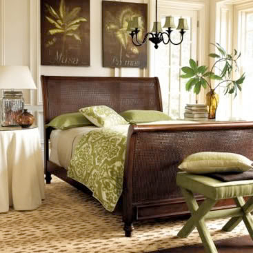 Top most elegant beds and bedrooms in the world green and - Green and brown bedroom decor ...