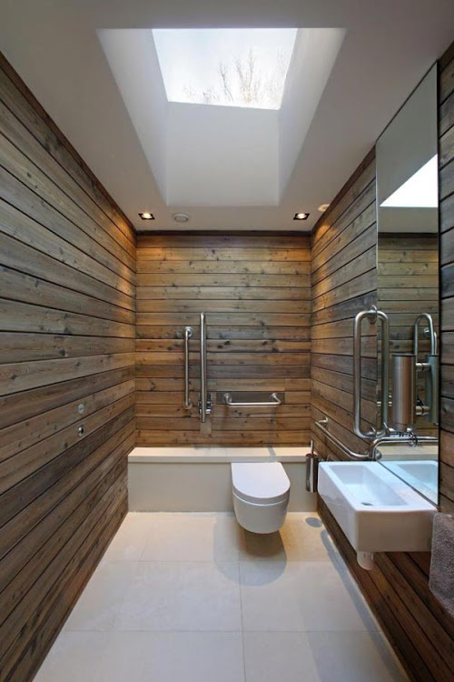 Rustic Bathroom Design Idea