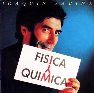 Carátula del disco Física y Química (Joaquín Sabina 1992)