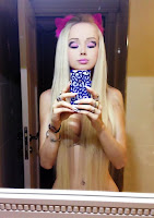 Valeria Lukyanova Barbie humana sin ropa desnuda