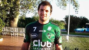 Lucas Santamarina, capitán de Tucumán Rugby.