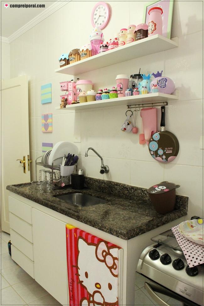decoracao cozinha fofa : decoracao cozinha fofa:Comprei por aí: ♥ Decor: Minha cozinha fofa