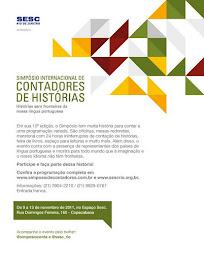 Simpósio Internacional de Contadores de Histórias - RJ