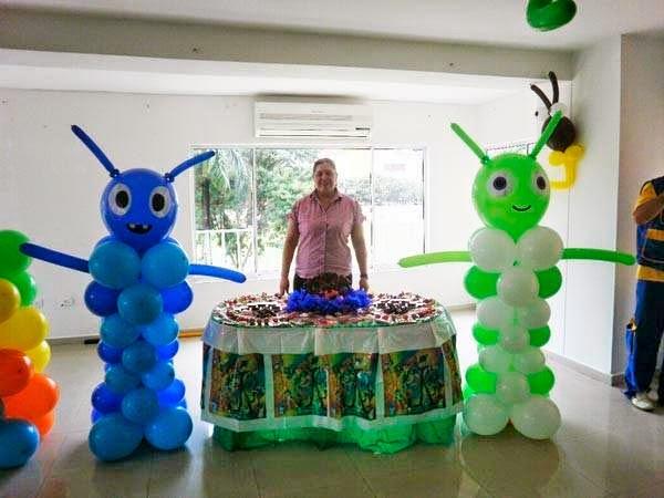 Globostilo decoraciones globos decoracion fiestas con globos for Decoracion en bombas para cumpleanos