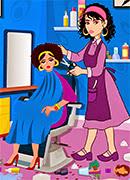 Уборка в парикмахерской - Онлайн игра для девочек