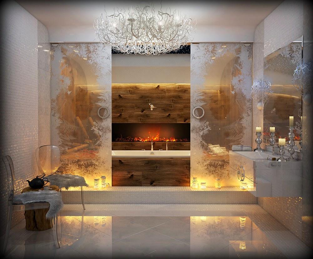 Boiserie bianca in legno foto design mag bagno con