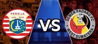 Persija Jakarta vs Semen Padang
