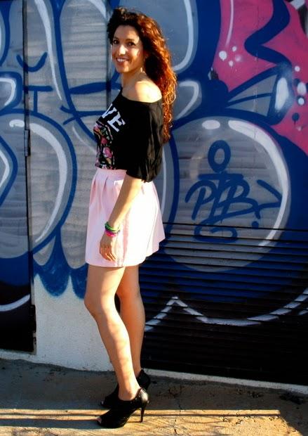 grafitti rosa mallorca