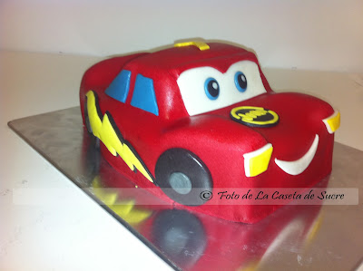 tarta cars rayo mc queen