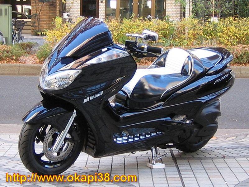havey bikes yamaha majesty 400. Black Bedroom Furniture Sets. Home Design Ideas
