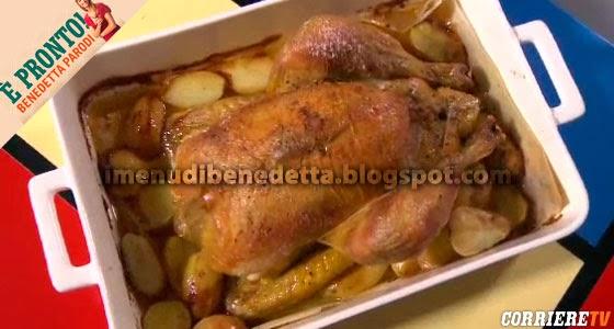 Pollo Arrosto con Margarina di Marlene di Benedetta Parodi