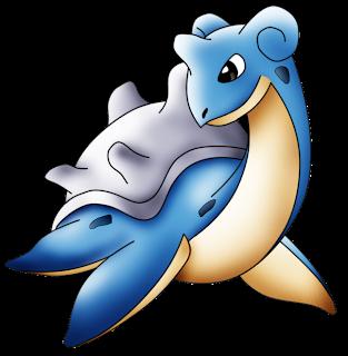 Desenho de Pokémon colorido