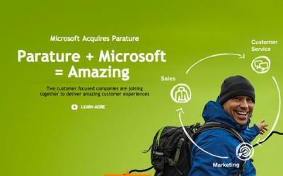 Perkuat Bisnis Cloud, Microsoft Akuisisi Parature