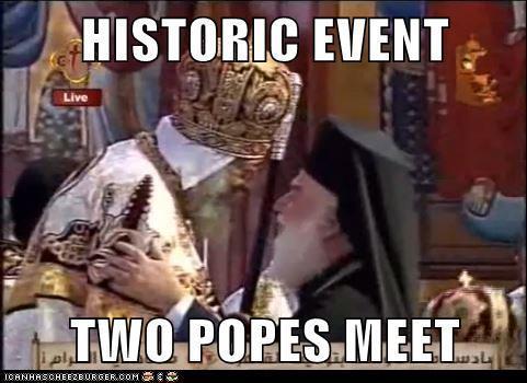 rencontre papes