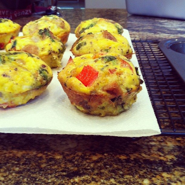 Just Jessie B: Italian Style Omelet Muffins (Paleo)