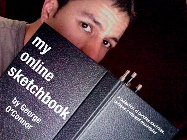 George O'Connor's Online Sketchbook