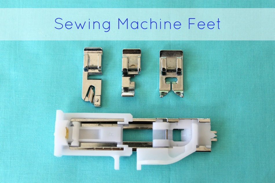 sewing machine foot types