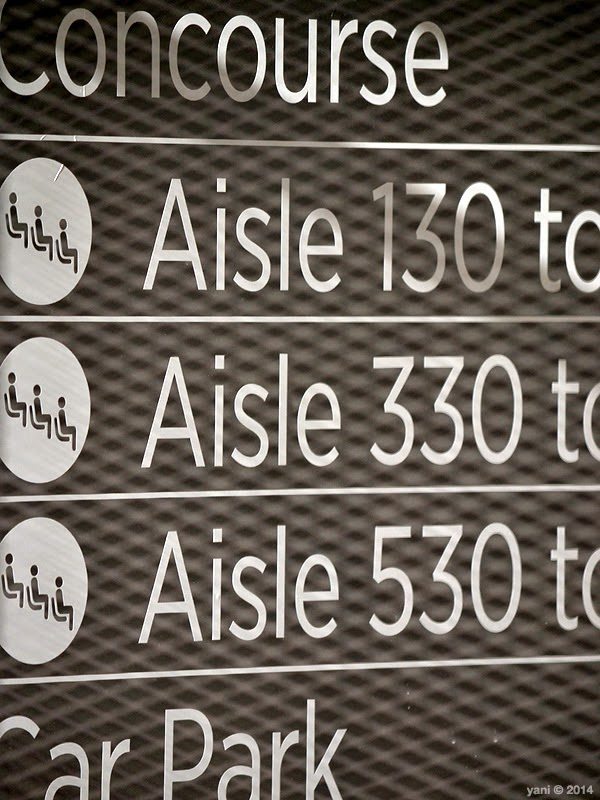 aisle signage