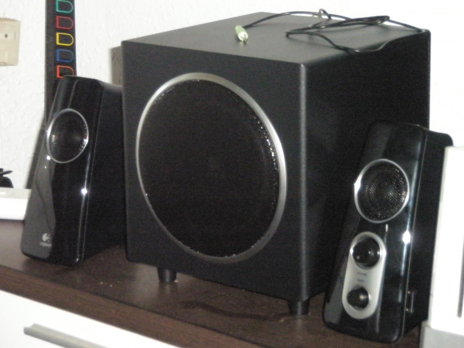 Alexsa122 logitech z523 for Woofer speaker system