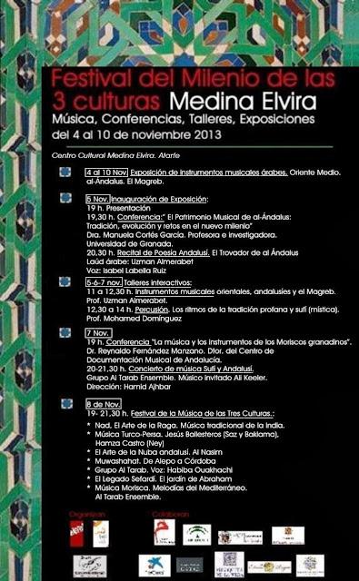Asociaci n cultural dar ziryab de granada for Exposicion 4 milenio horario