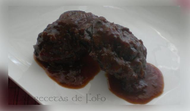 Las recetas de f fo carrilleras de cerdo en salsa de vino for Cocinar carrilleras de cerdo