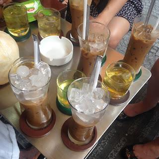 vietnam, otcb on tour, food, drinks, cafe sua da