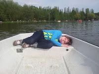 На лодке в Измайловском лучше, чем на катамаране