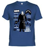 Camiseta hodor - Juego de Tronos en los siete reinos