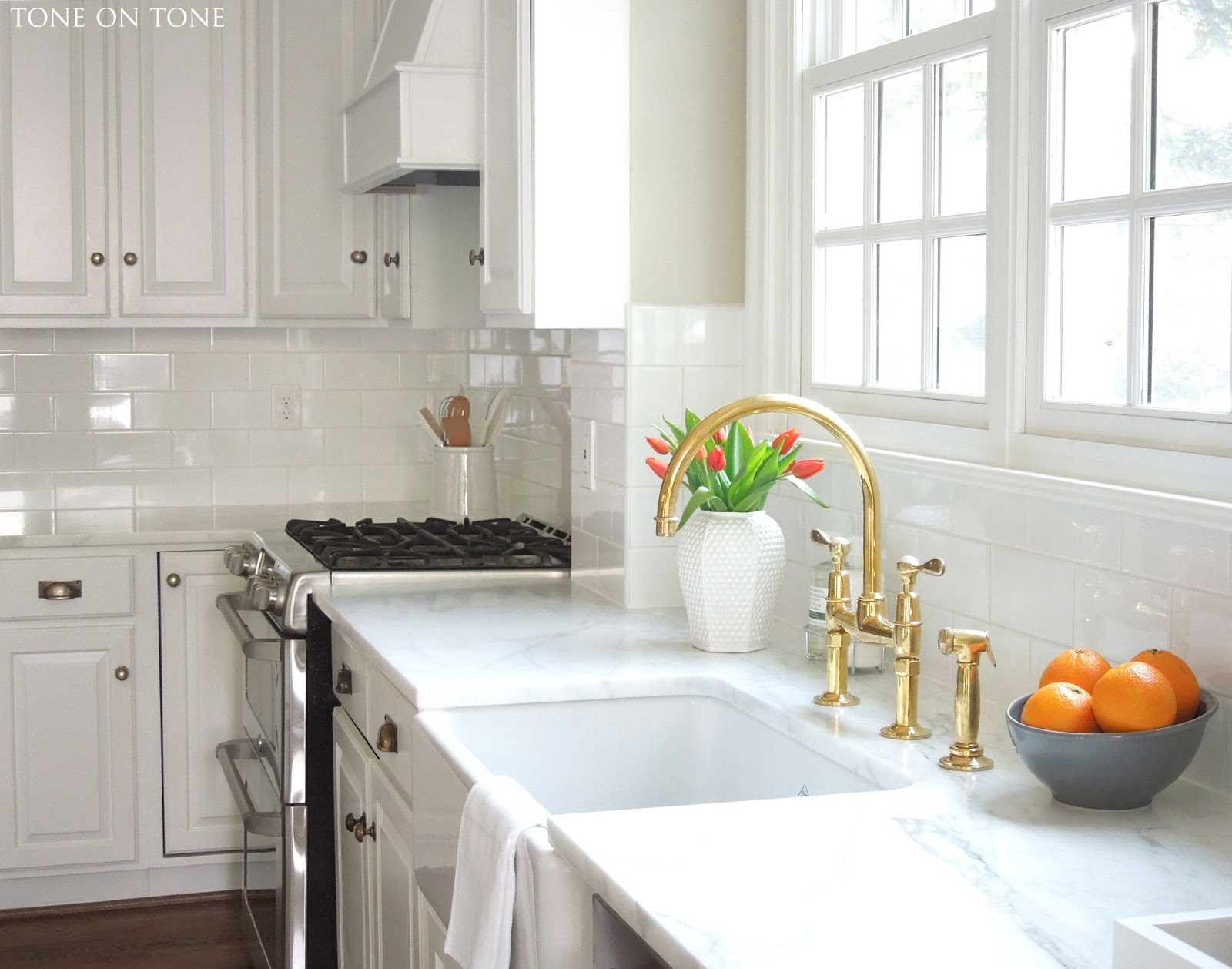 tone on tone a kitchen makeover