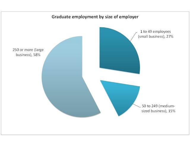 HECSU blog - graduate employment by business size