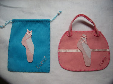 Bolsa e Saco para lembranças de Aniversário