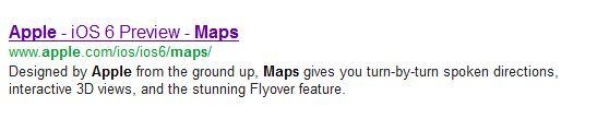 Apple iOS6 Maps,iPhone 5 Maps Fail