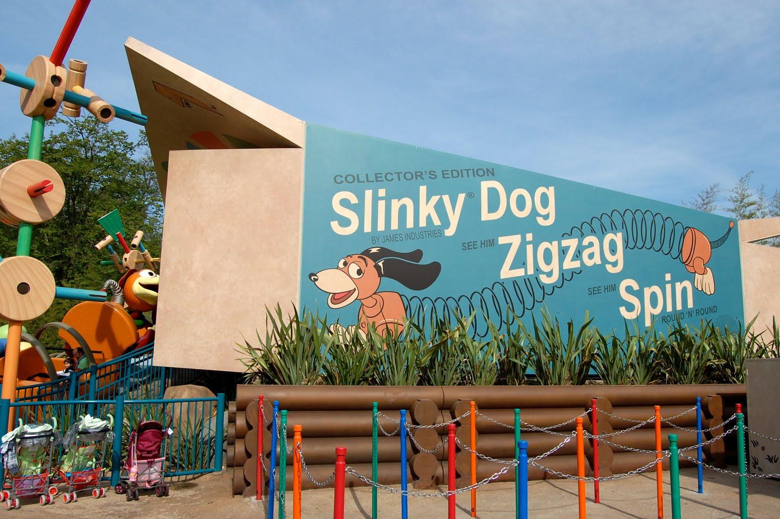 Disneyshawn Slinky Dog And Hot Wheels