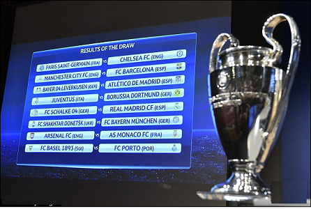 champions league last 16 draw