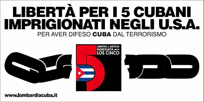 i cinque patrioti cubani