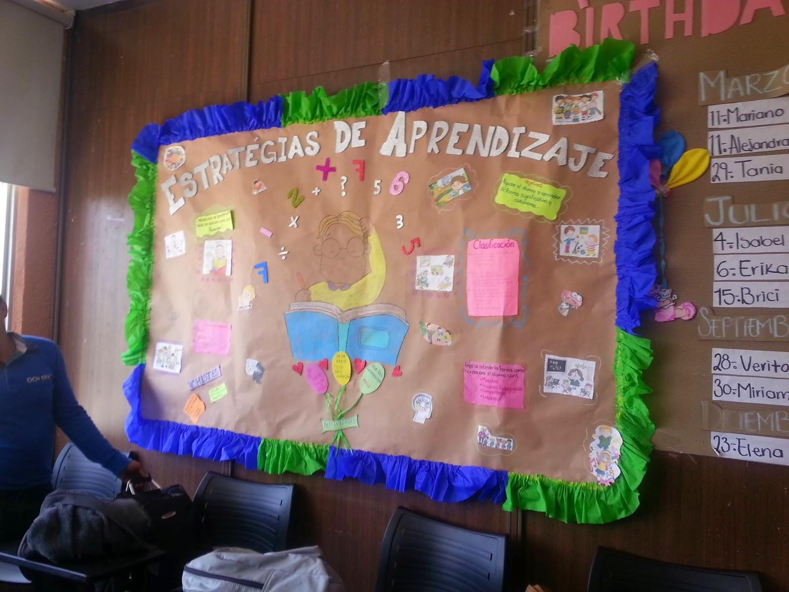 Creacion de ambientes de aprendizaje periodico mural for Como decorar un mural