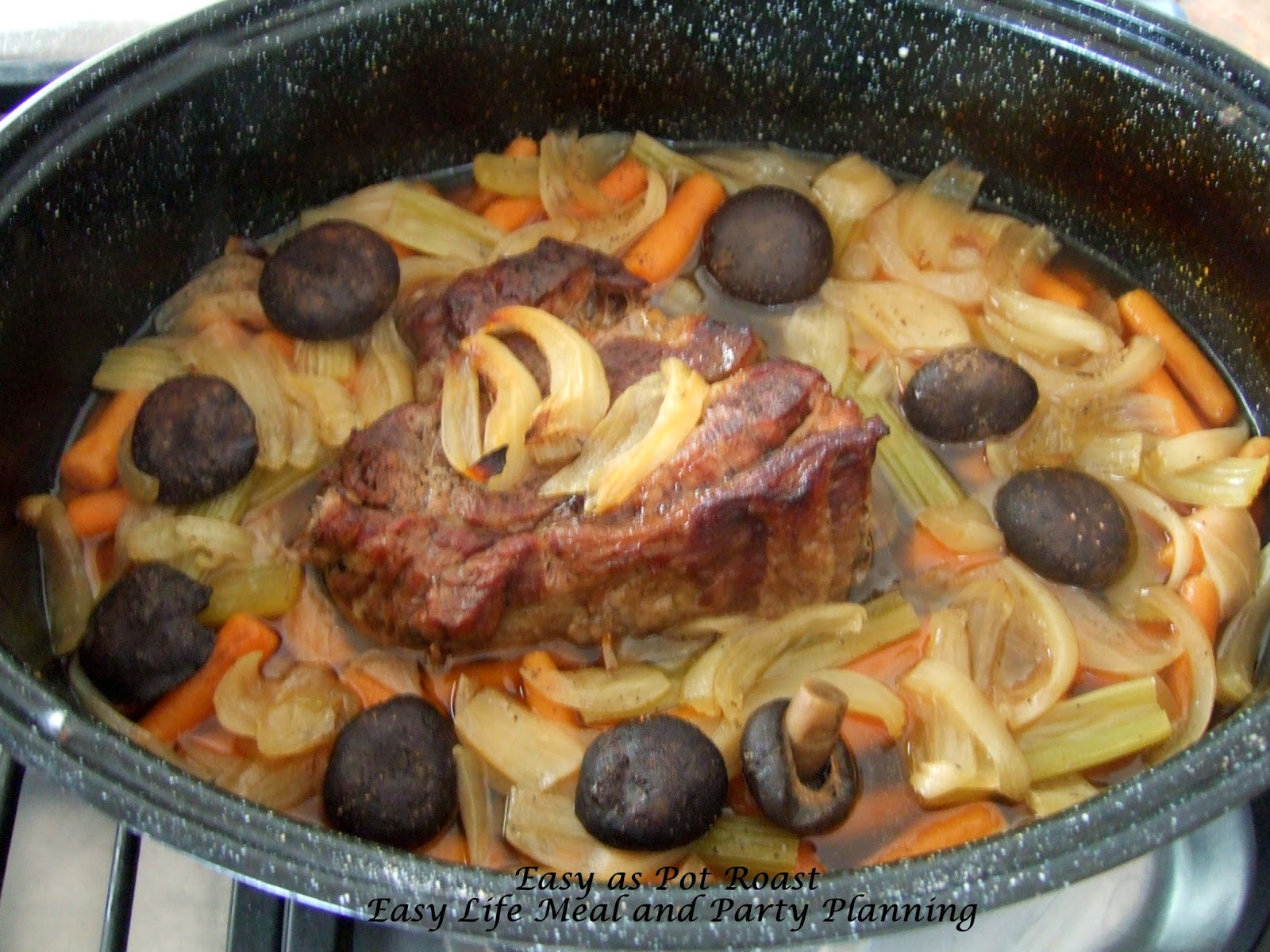 Easy as Pot Roast by Easy Life Meal and Party Planning