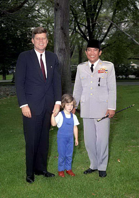 Suekarno dan John F. Kennedy