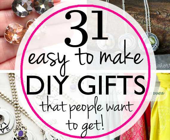 31 easy inexpensive diy gifts your friends and family Easy gift ideas for friends