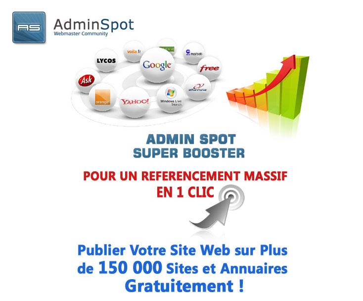 Admin Spot - super booster