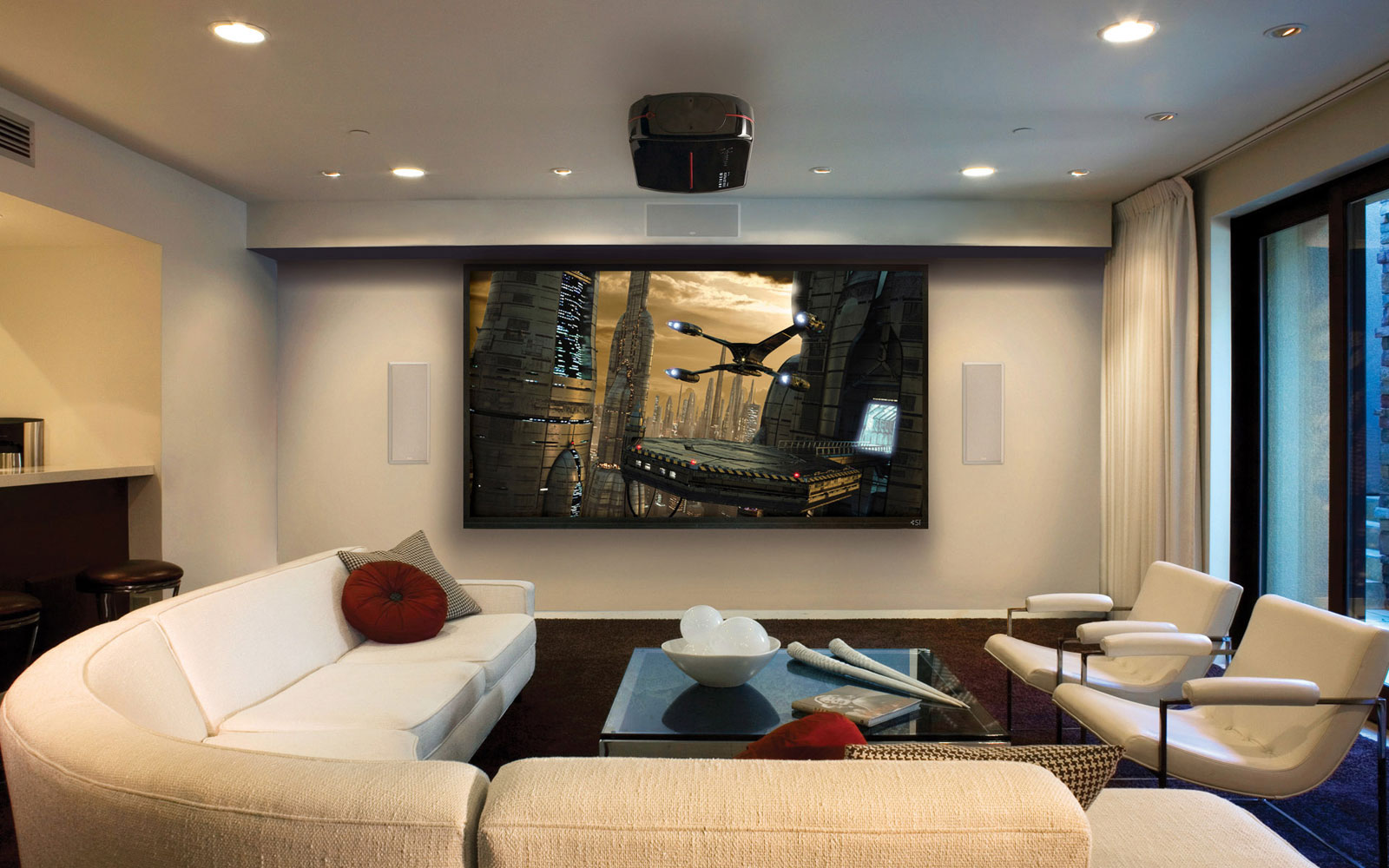 Do You Dream of Living Room Theaters? Make it Real Here