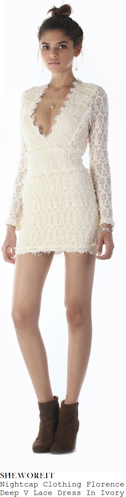 lucy-mecklenburgh-white-cream-long-sleeve-lace-dress