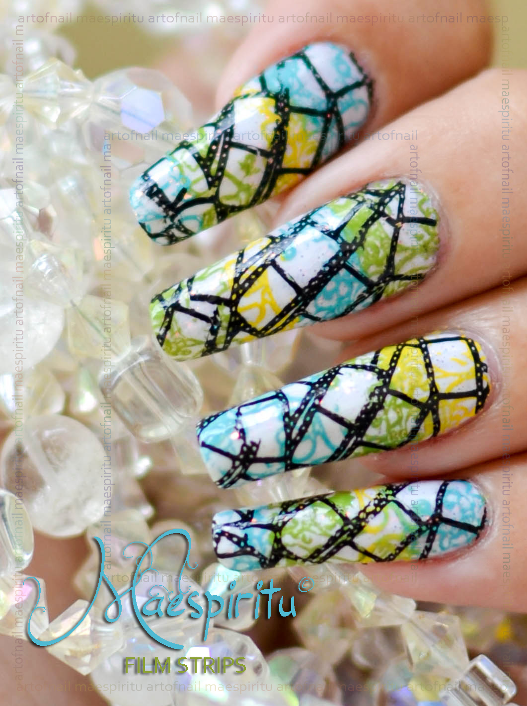 Nail Art Design Fun 2 Image Plate