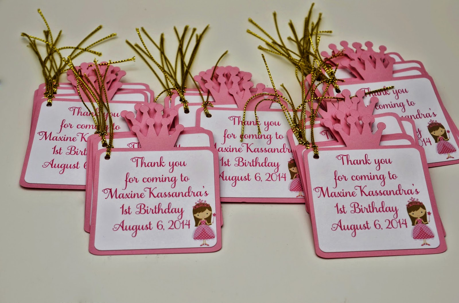 personalized door sign, handmade_invitations, gift_tags, goody_bags