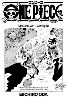 One Piece 697 Mangá Português Leitura Online Agaleradosanimes.net